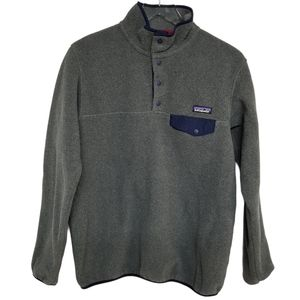 Patagonia Grey  Synchilla Pullover Fleece L